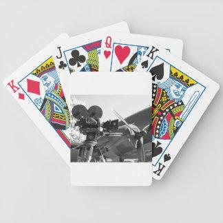 Mitchell movie camera DC-3 Poker Cards