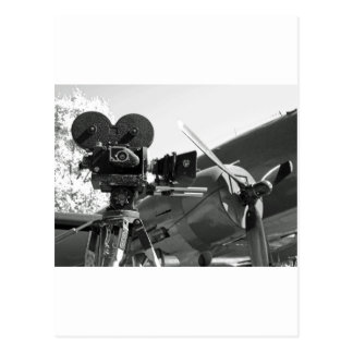 Mitchell movie camera DC-3 Postcard