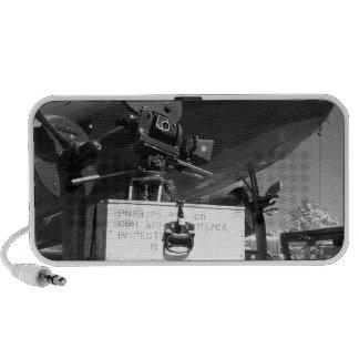 Mitchell movie camera DC-3 Travel Speaker
