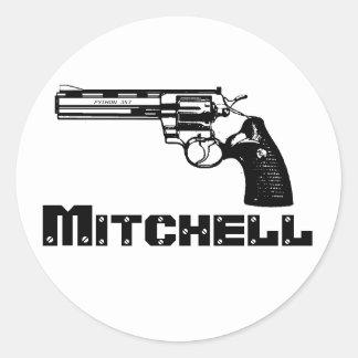 Mitchell! Classic Round Sticker