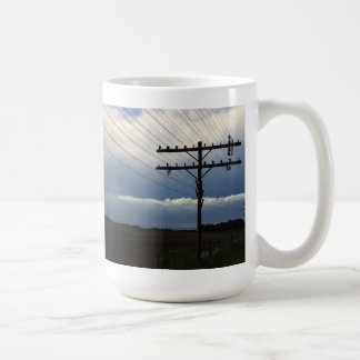 Mitchell-Tyndall, SD Open Wire Toll Lead of NWBell Classic White Coffee Mug
