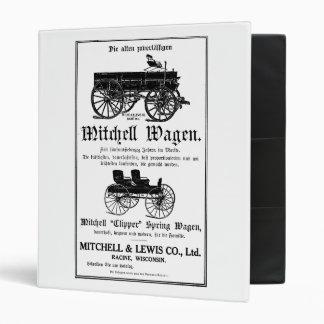 Mitchell Wagen - German 3 Ring Binder