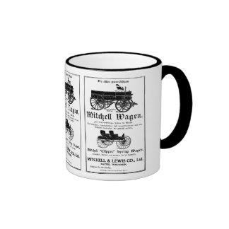 Mitchell Wagen - German Coffee Mug