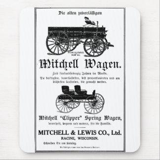 Mitchell Wagen - German Mousepad