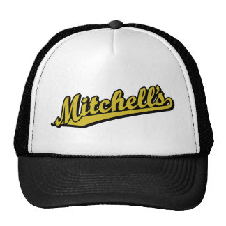 Mitchell's in Gold Mesh Hats