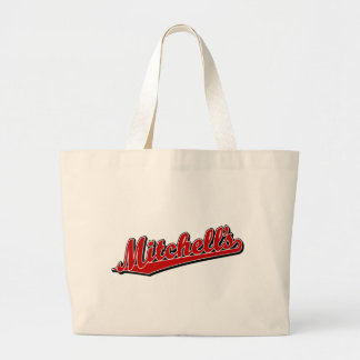Mitchell's in Red Canvas Bags