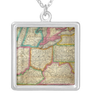 Mitchell's Travellers Guide Square Pendant Necklace
