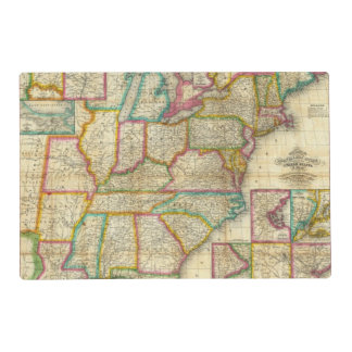 Mitchell's Travellers Guide Placemat