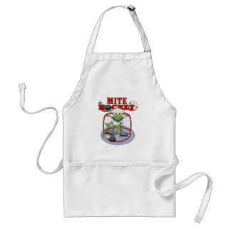 Mite Hockey Goalie Tshirts and Gifts Adult Apron
