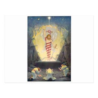 Mithra in the form of Leontocephalic Kronos Postcard