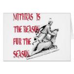 Mithras es la razón de la estación tarjetón