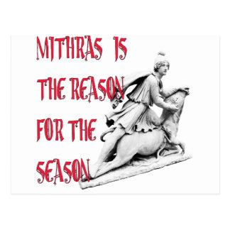 Mithras is the Reason for the Season Postcard