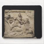 Mithras que sacrifica la Bull, 2do-3ro siglo Alfombrillas De Ratón