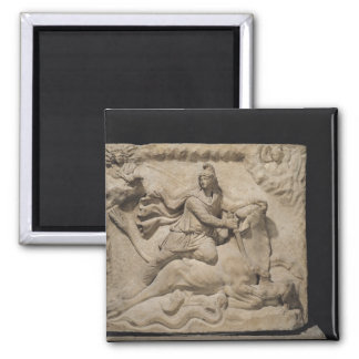 Mithras Sacrificing the Bull, 2nd-3rd century Magnet