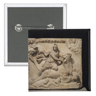 Mithras Sacrificing the Bull, 2nd-3rd century Pinback Button