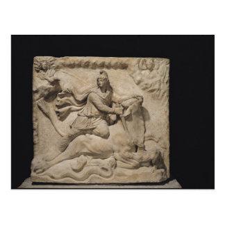 Mithras Sacrificing the Bull, 2nd-3rd century Postcard