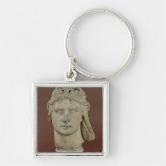 Mithridates VI Eupator, rey de Pontus Llavero Cuadrado Plateado
