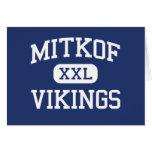Mitkof Vikings Middle Petersburg Alaska Greeting Cards