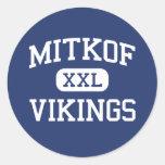 Mitkof Vikings Middle Petersburg Alaska Sticker