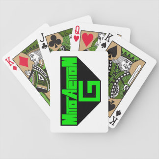 Mito-Action G logo playing cards