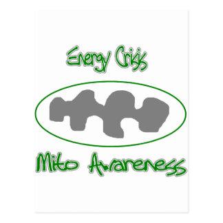 mito awareness energy crisis postcard