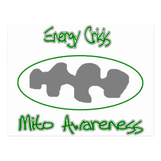 mito awareness energy crisis postcard