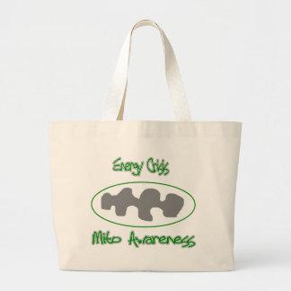 mito awareness energy crisis tote bags