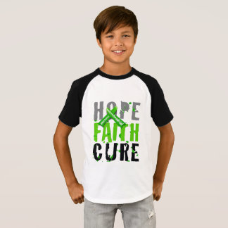 Mito Awareness Hope Faith Cure #believe T-Shirt
