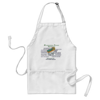 mito awarness facts adult apron