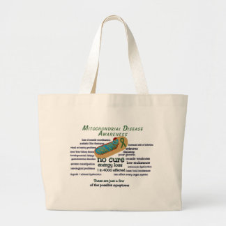 mito awarness facts tote bags