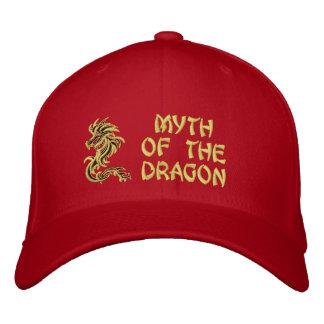 Mito del dragón gorra de béisbol bordada