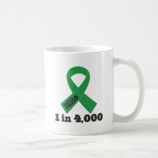 Mito Green Ribbon Awareness 1 in 4000 Coffee Mug
