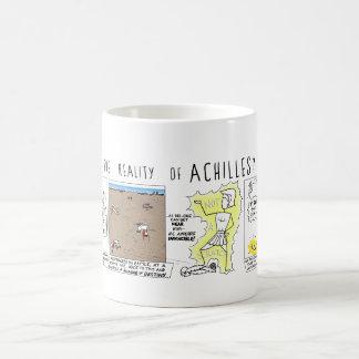 Mito griego Comix Aquiles pinta 2 la taza de la