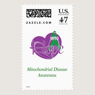 Mito Heart Ribbon Stamps