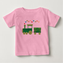 Mito Research Train Baby T-Shirt