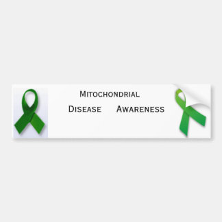 Mito_Ribbon 370px-Green_ribbon_svg Mitochondr… Etiqueta De Parachoque
