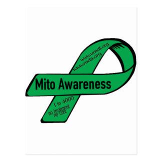 Mito ribbon postcard