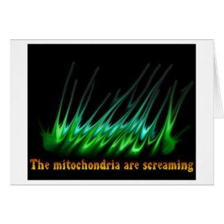 Mitochondria Are Screaming Card