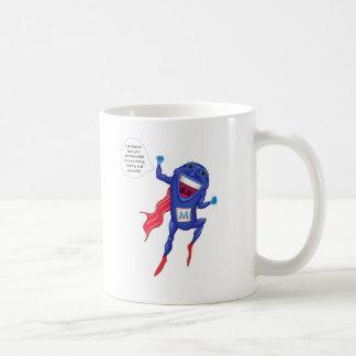 Mitochondria Man Classic White Coffee Mug