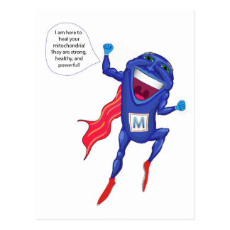 Mitochondria Man Post Cards
