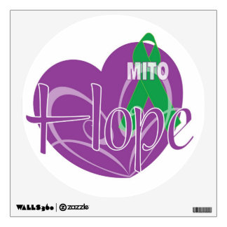 Mitochondrial Disease Awareness Wall Decal