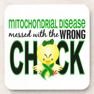 Mitochondrial Disease Messed With Wrong Chick Coaster