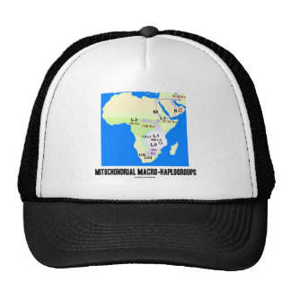 Mitochondrial Macro-Haplogroups MRCA Genealogy Trucker Hat