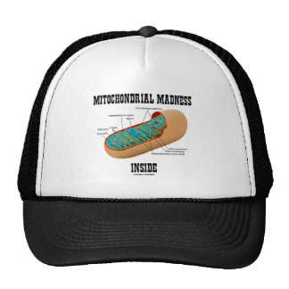 Mitochondrial Madness Inside (Mitochondrion) Mesh Hat