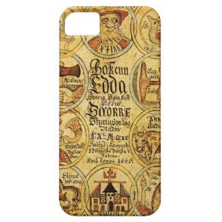 Mitología de los nórdises de Edda iPhone 5 Case-Mate Cobertura