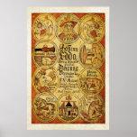 Mitología de los nórdises de Edda Poster