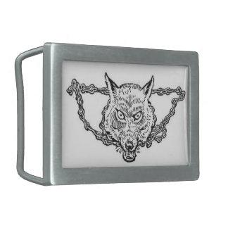 Mitología de los nórdises - hebilla del cinturón d hebillas de cinturon rectangulares