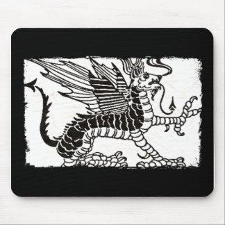 Mitológico dragon mouse pad