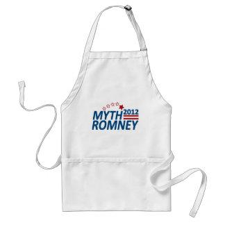Mitón anti 2012 de Romney del mito Delantal