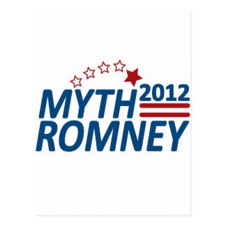 Mitón anti 2012 de Romney del mito Postal
